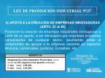 ley de promoci n industrial 97279