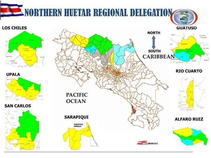NORTHERN HUETAR REGIONAL DELEGATION
