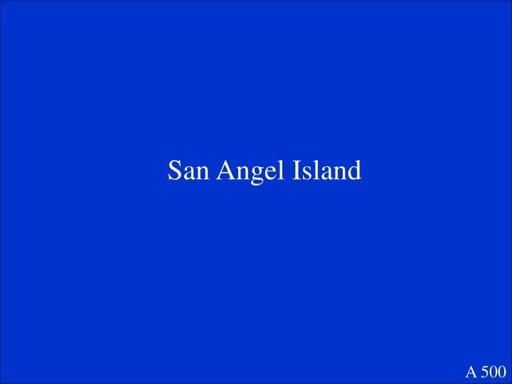 San Angel Island