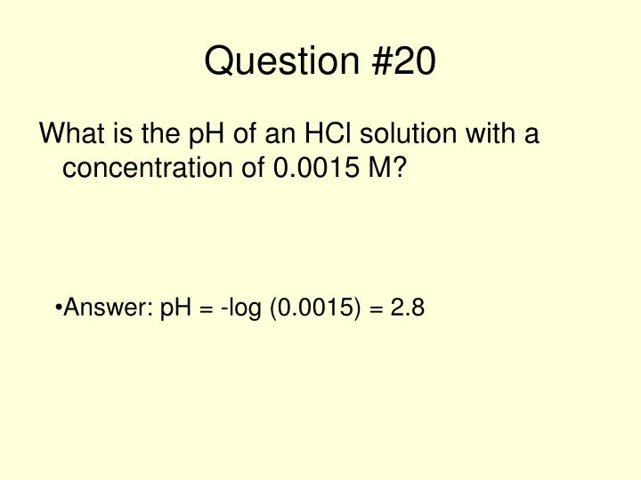 Question #20