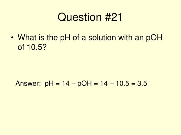 Question #21