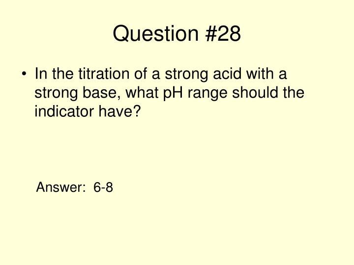 Question #28