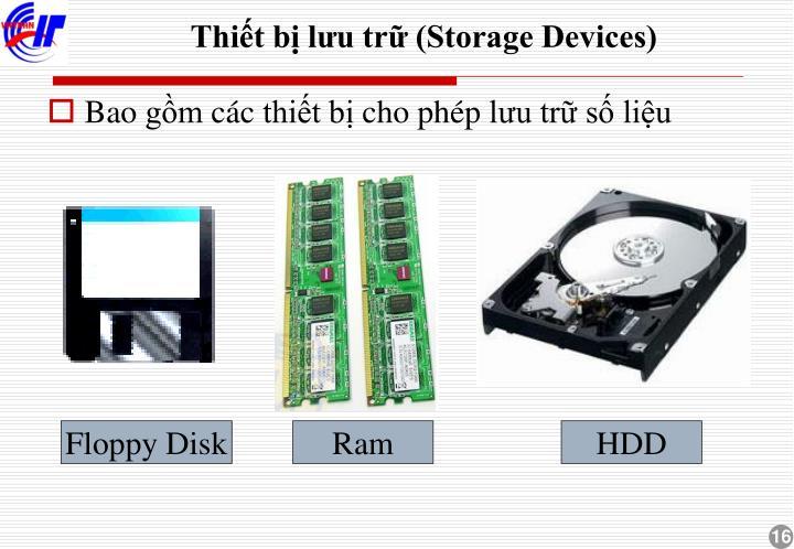 Thiết bị lưu trữ (Storage Devices)