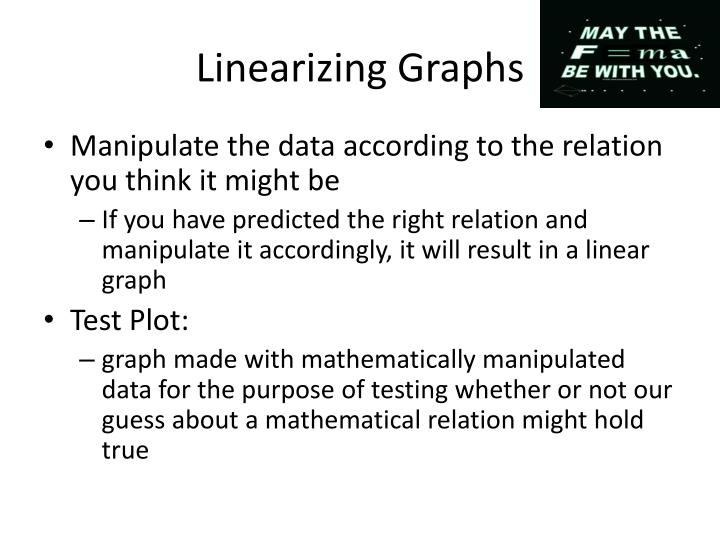 Linearizing Graphs