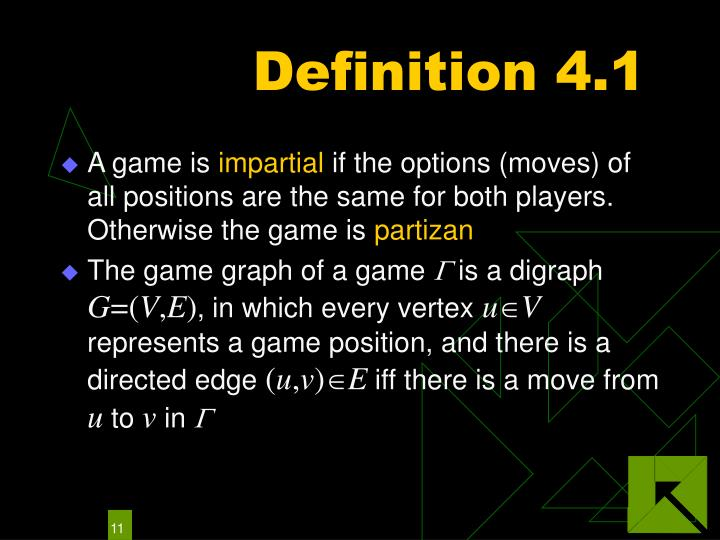 Definition 4.1