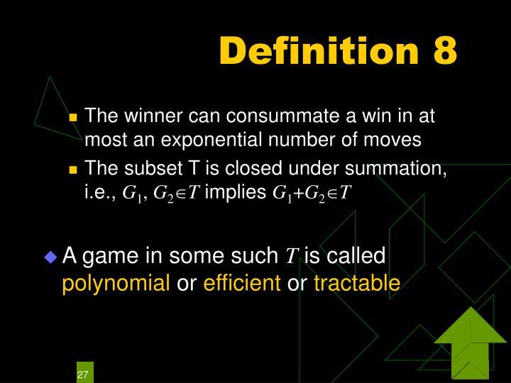 Definition 8