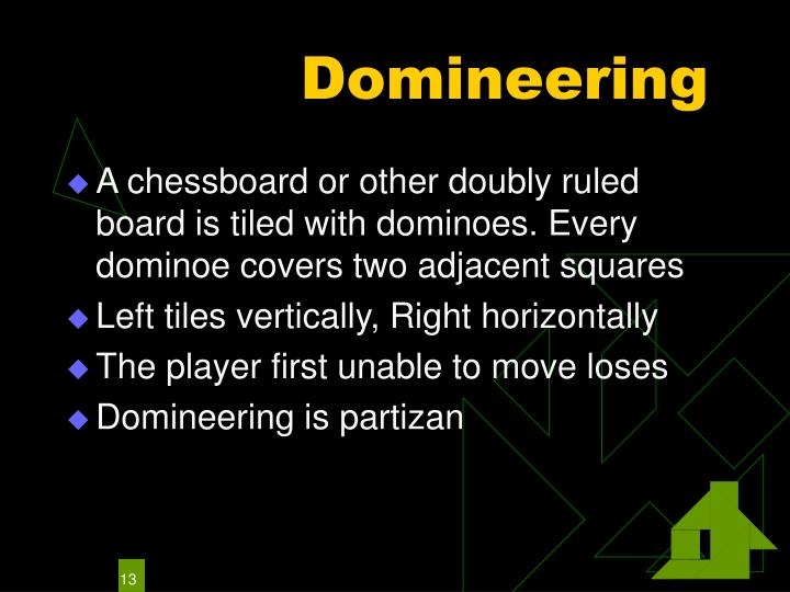 Domineering