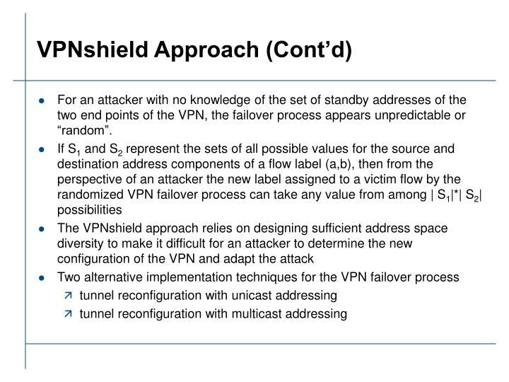 VPNshield Approach (Cont'd)