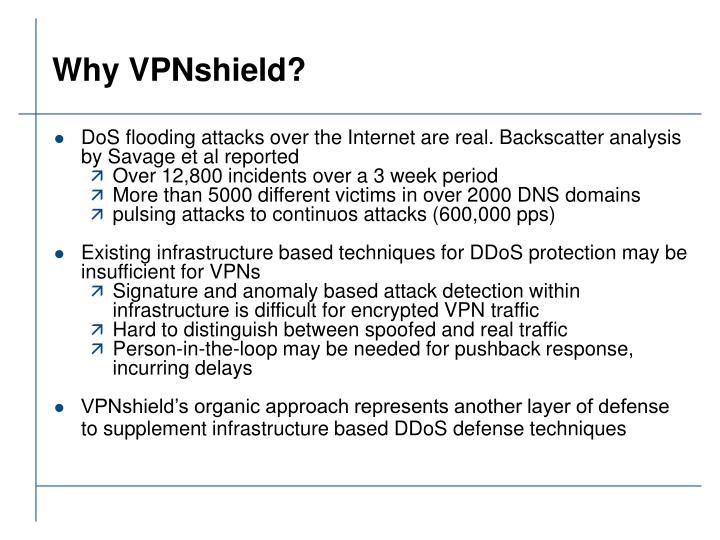 Why VPNshield?