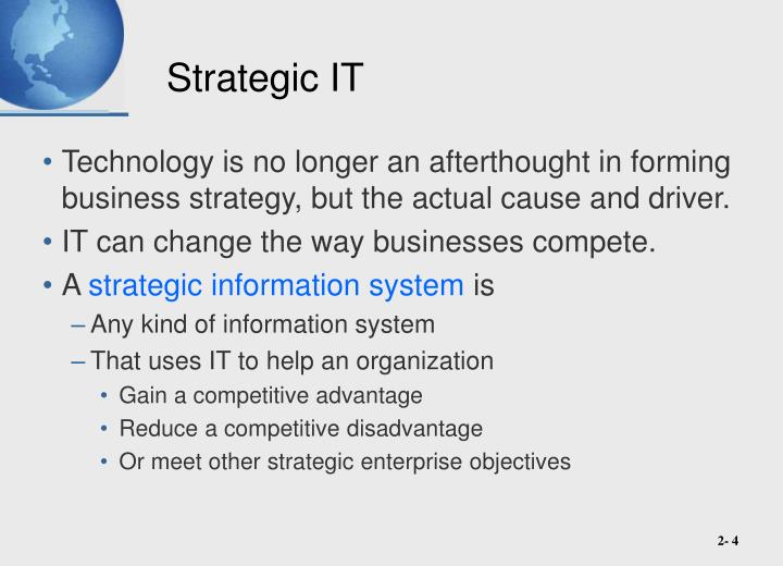 Strategic IT