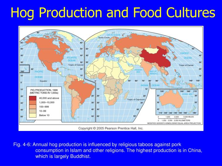 Hog Production and Food Cultures