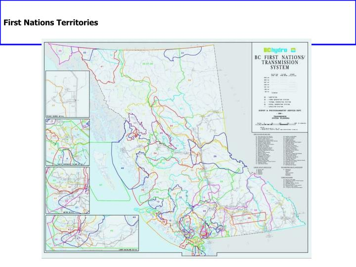 First Nations Territories