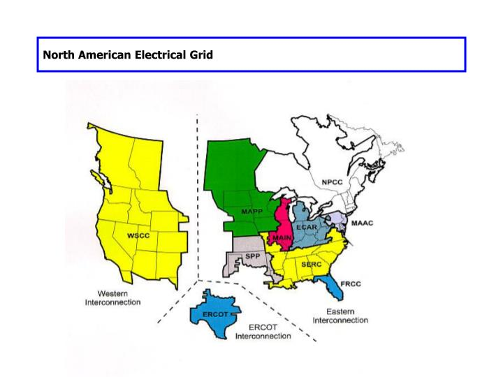 North American Electrical Grid