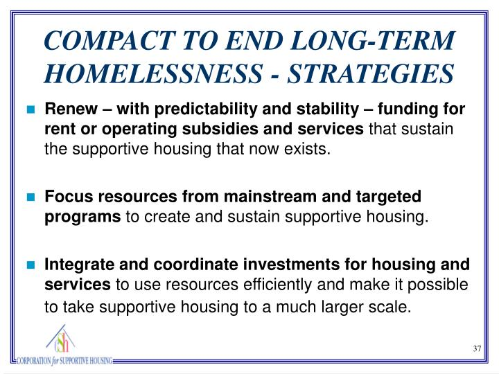 Renew – with predictability and stability – funding for rent or operating subsidies and services