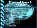 effects of drugs alcohol