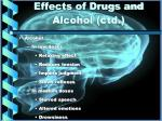 effects of drugs and alcohol ctd1