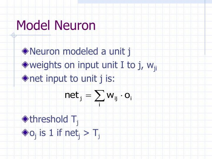 Model Neuron