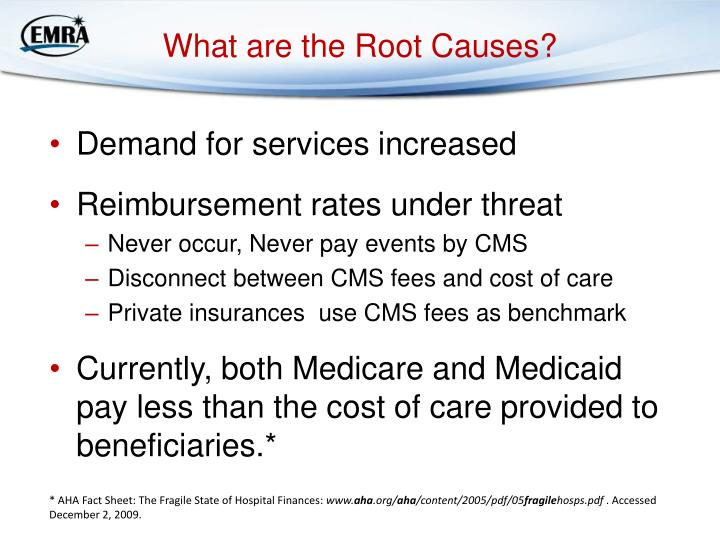 What are the Root Causes?