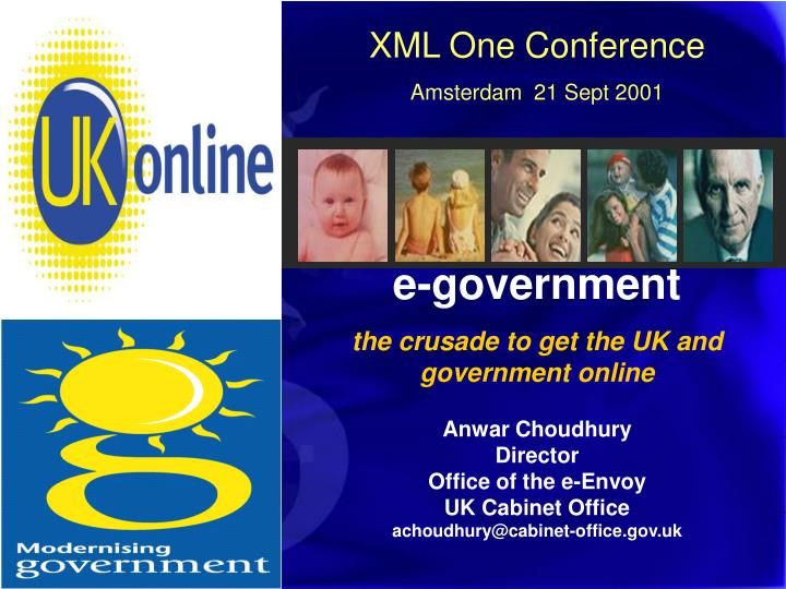 XML One Conference