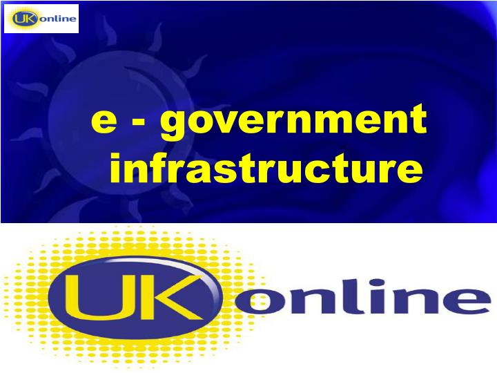 e - government