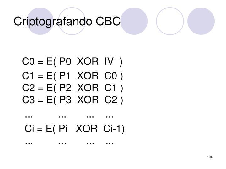 Criptografando CBC