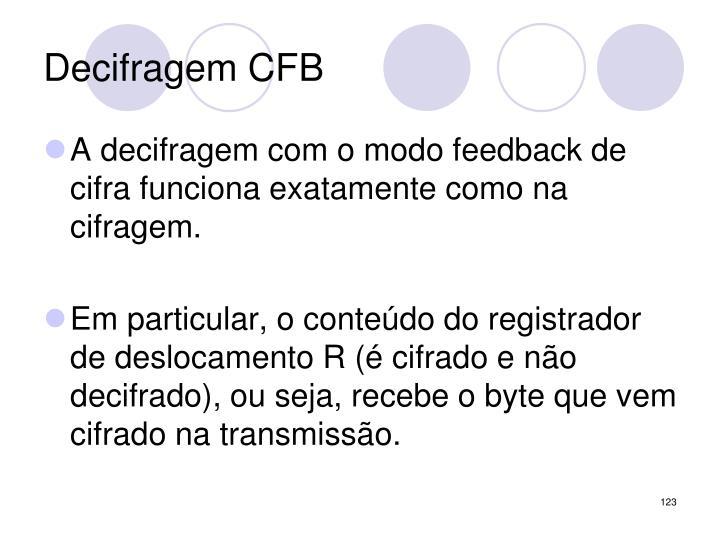 Decifragem CFB