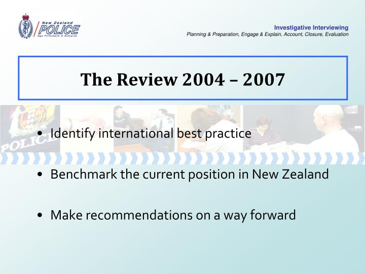 The review 2004 2007