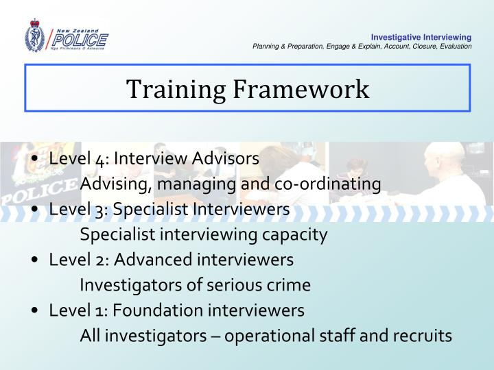 Training Framework