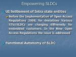 empowering sldcs