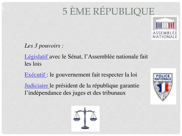 5 ème république