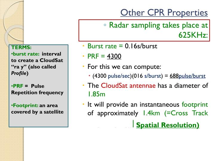 Other CPR Properties