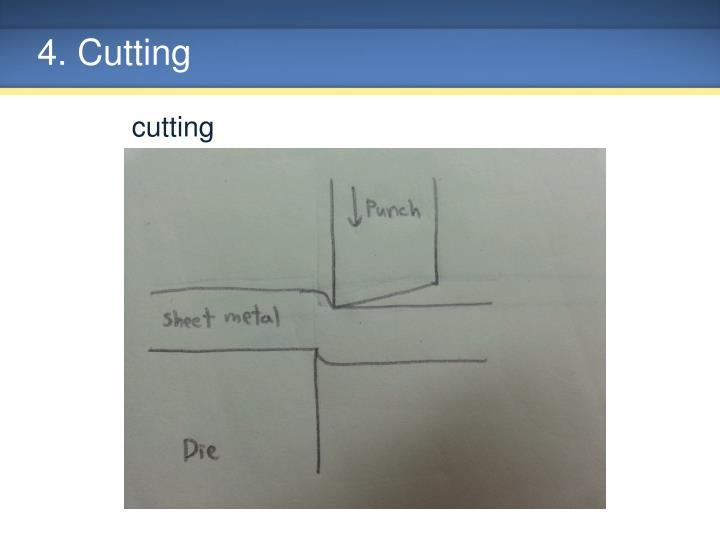 4. Cutting