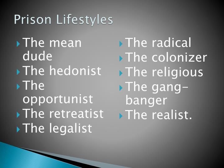 Prison Lifestyles