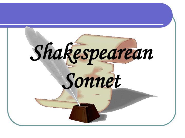 Shakespearean