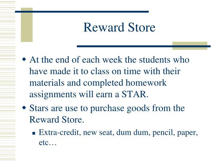 Reward Store