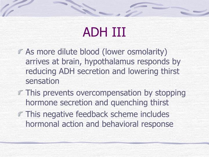 ADH III