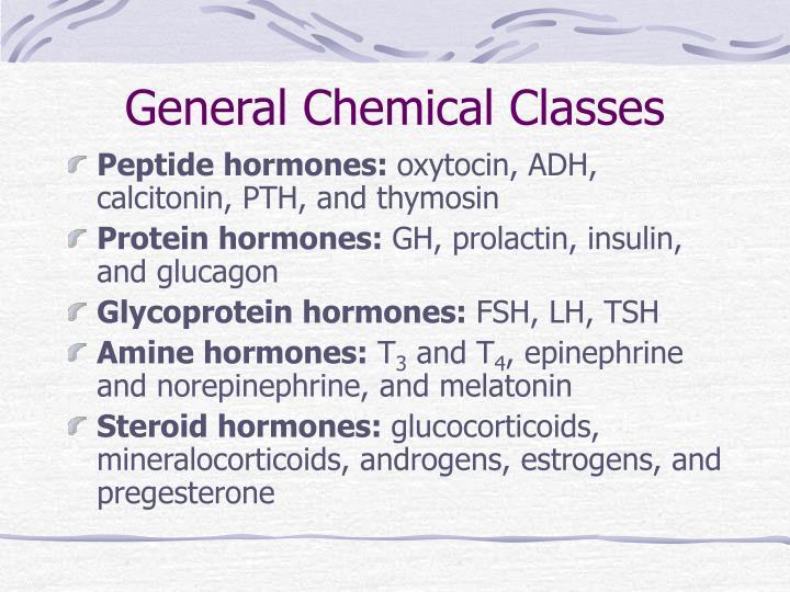 General Chemical Classes
