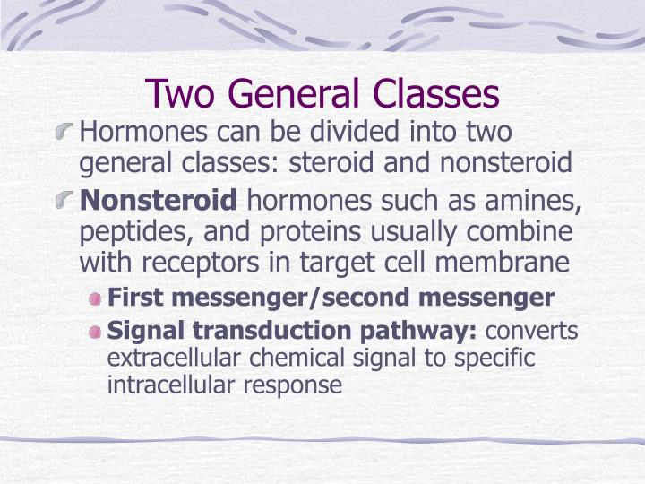 Two General Classes