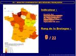 b 1 analyse comparative des r gions fran aises