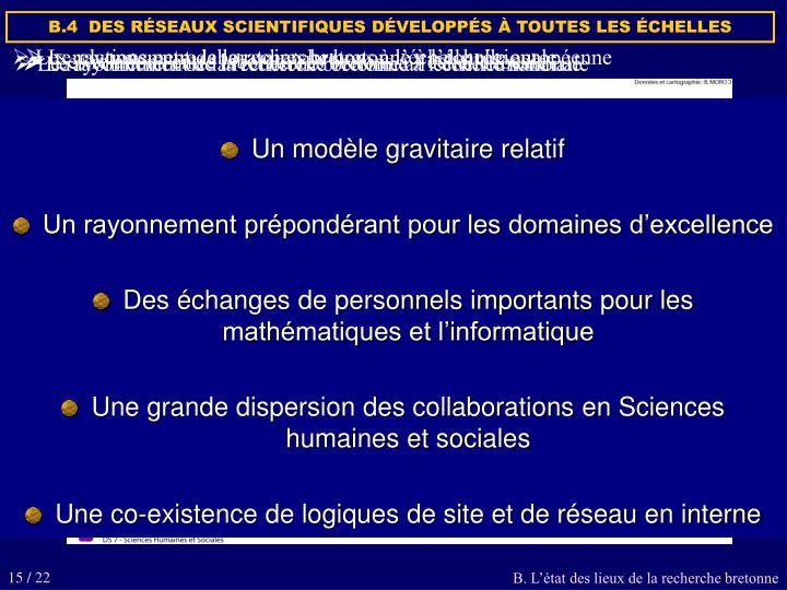 Le rayonnement de la recherche bretonne à l'échelle européenne