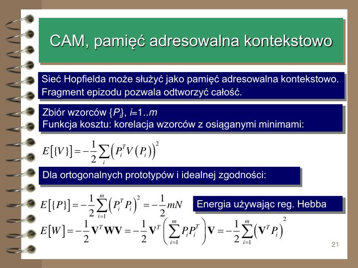 CAM, pamięć adresowalna kontekstowo