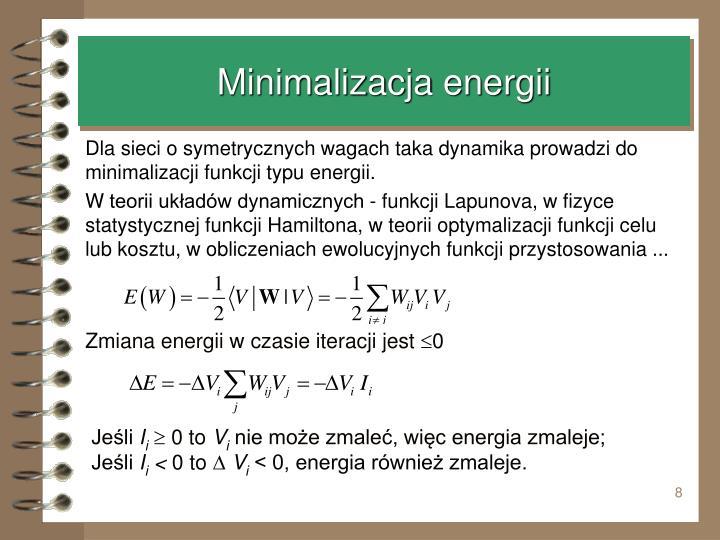 Minimalizacja energii
