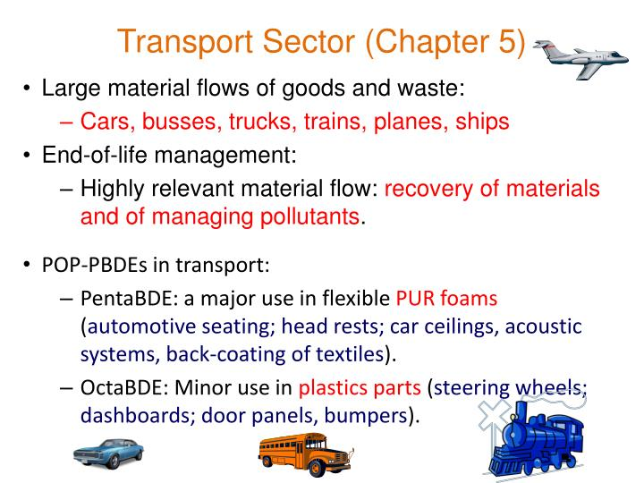 Transport Sector (Chapter 5)