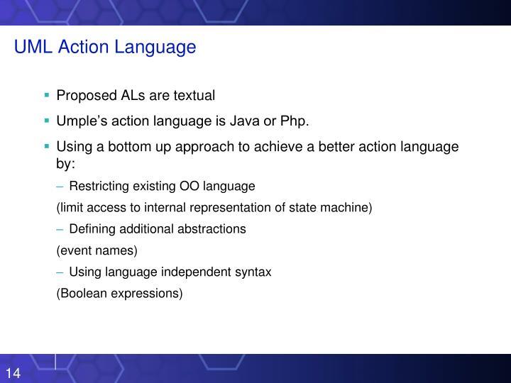 UML Action Language