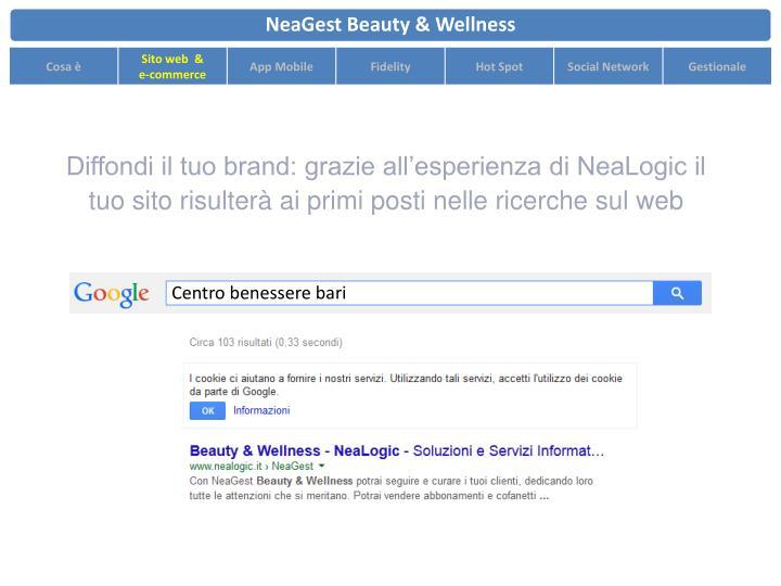 Diffondi il tuo brand: grazie all'esperienza di NeaLogic il tuo sito risulterà ai primi posti nelle ricerche sul web