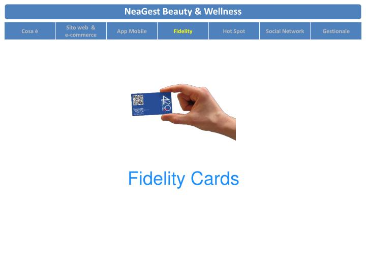 Fidelity Cards