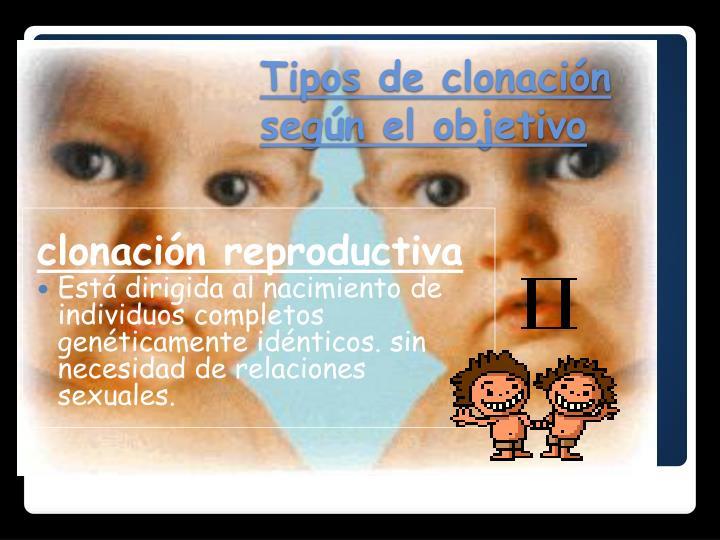clonación reproductiva