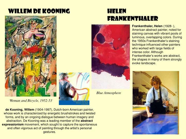 de Kooning, Willem
