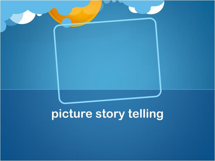 picture story telling