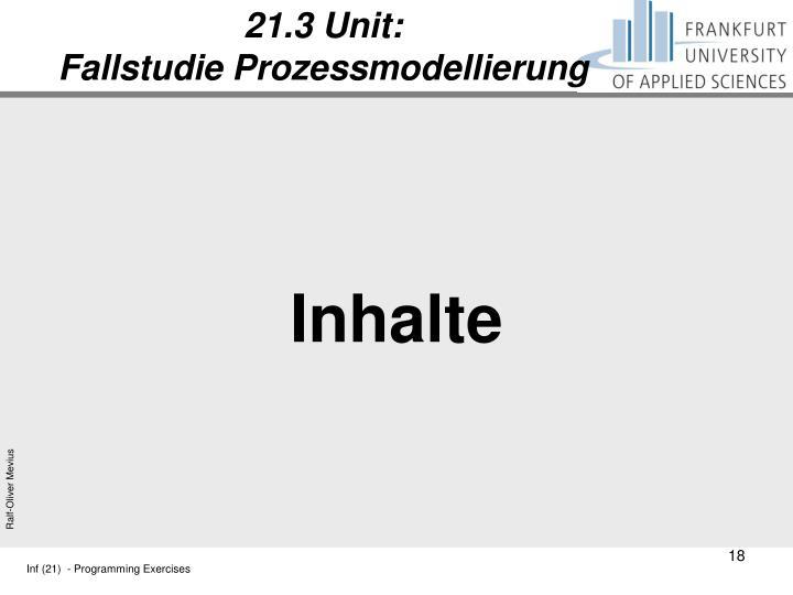 21.3 Unit: